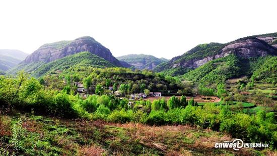 比油画还美的地方 铜川照金-香山风景区
