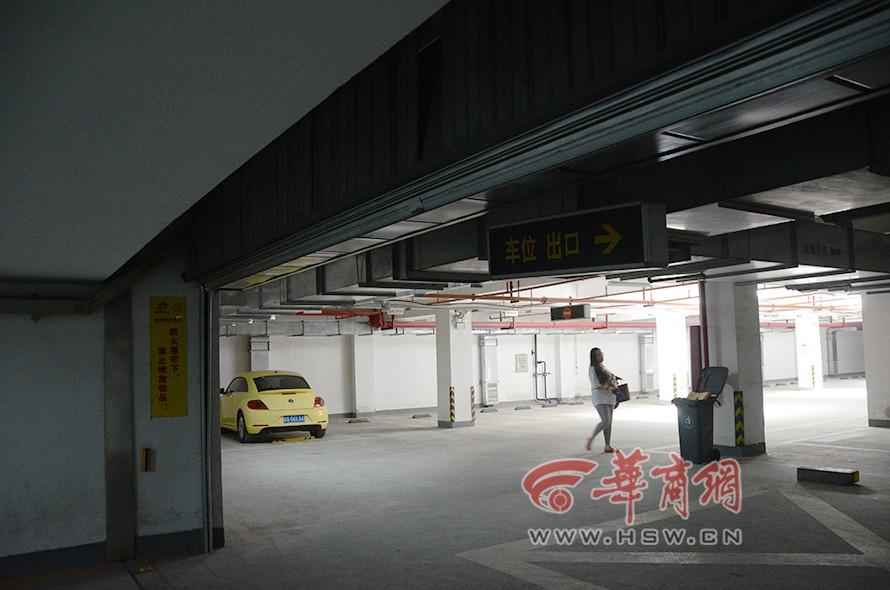 裕昌·太阳城北侧的融侨馨苑小区地下车库