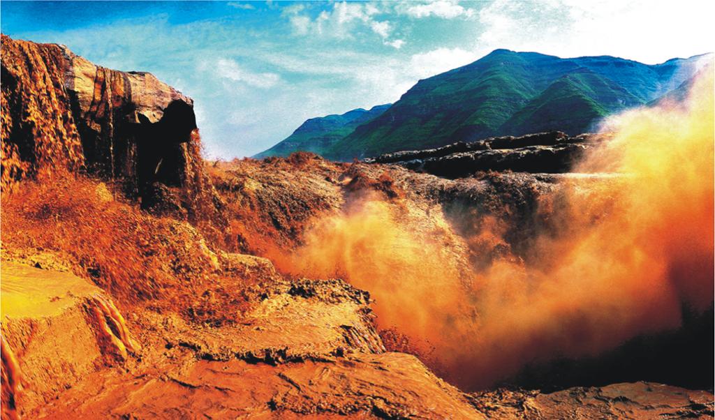 黄河壶口瀑布景区