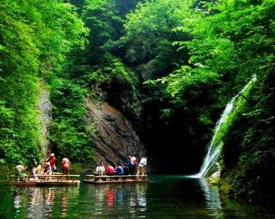 商南金丝峡国家森林公园