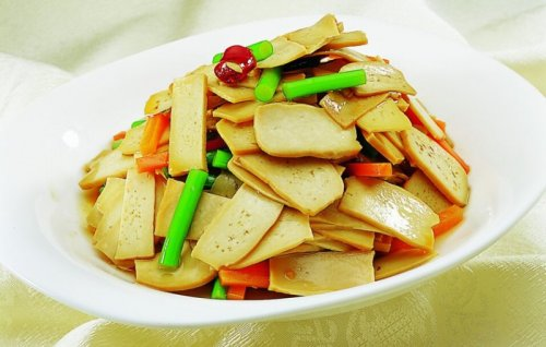 洛南豆腐干