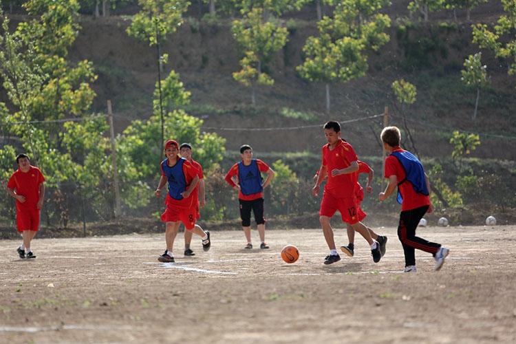 走近陕西省聋人、特奥足球队