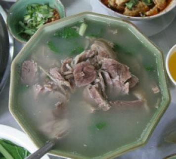 合阳县美食:清汤羊肉