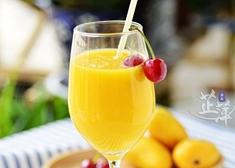 健康饮料自己做 芒果汁