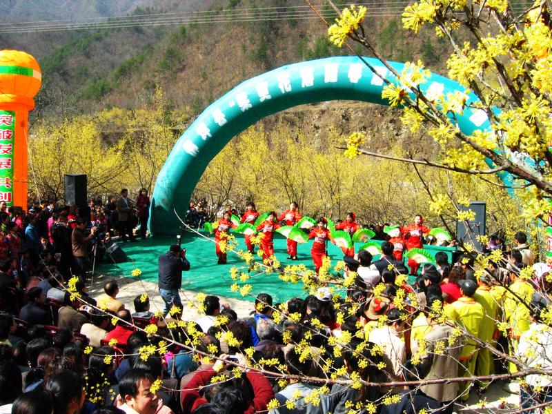 第一届茱萸花海踏春游活动