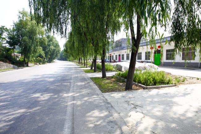 印台区打造美丽路域环境