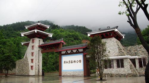 [组图]陕南小庐山――汉水源森林公园雨中美景