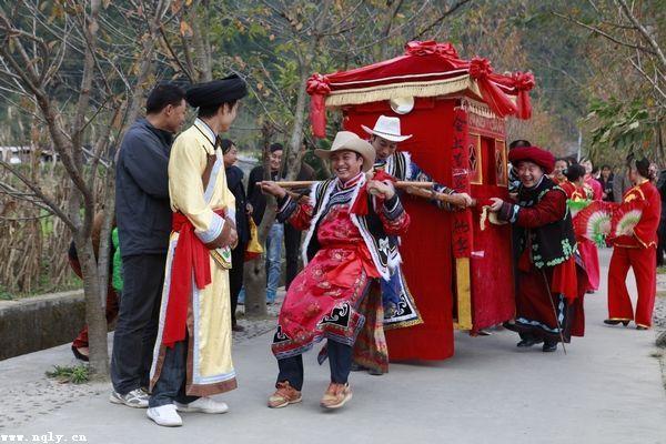 [组图]青木川当地婚俗-传统而热闹