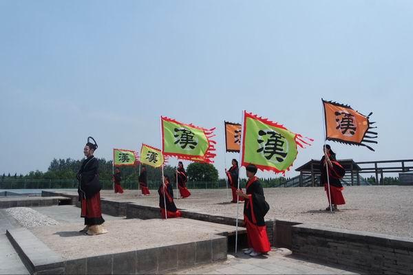 """""""奔跑吧大学生""""活动在汉阳陵成功举办"""