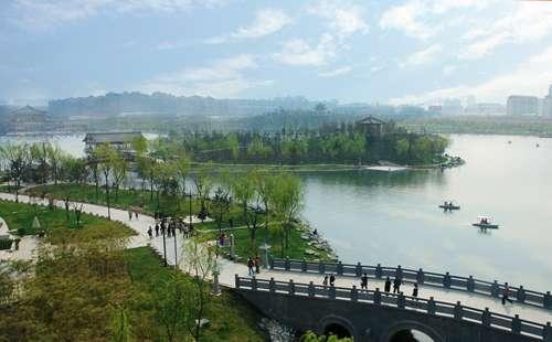 曲江遗址公园一日游