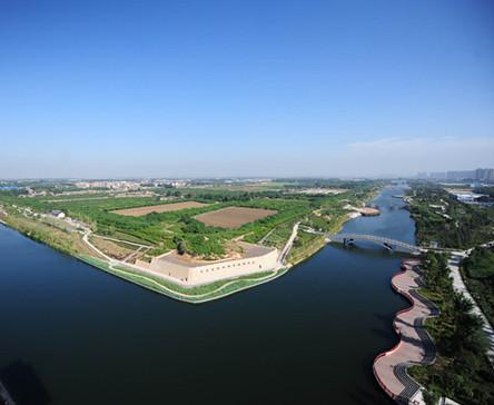 西安最美生态湖之汉城湖
