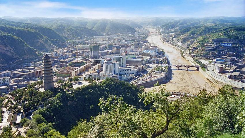 延安宝塔山景区