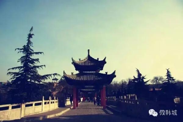 金塔公园_韩城市景点介绍