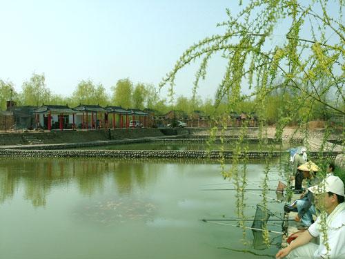 灞河十公里垂钓长廊