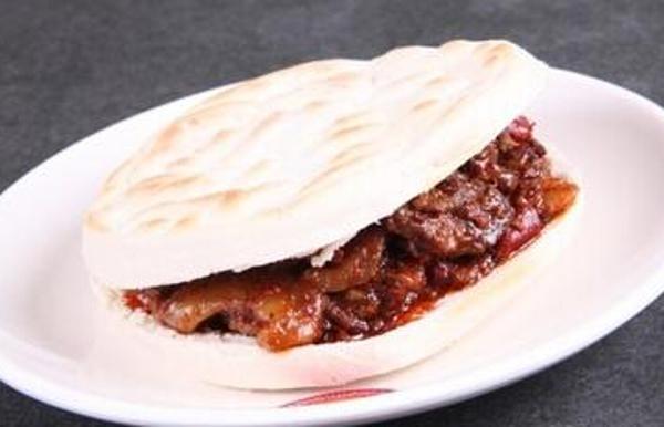 肉臊子加馍[图]
